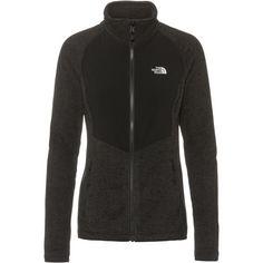 The North Face ARASHI Fleeceshirt Damen tnf black heather/tnf white