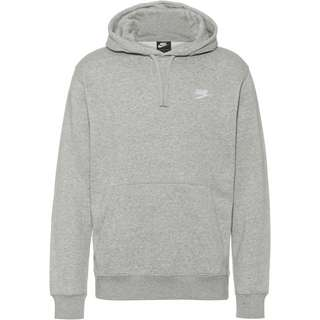 Nike NSW Club Hoodie Herren dk grey heather-matte silver-white