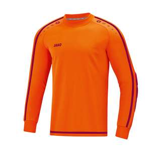 JAKO Striker 2.0 Torwarttrikot Khaki Fußballtrikot Herren Orange