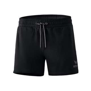 Erima Essential Sweat Short Damen Fußballshorts Damen schwarz