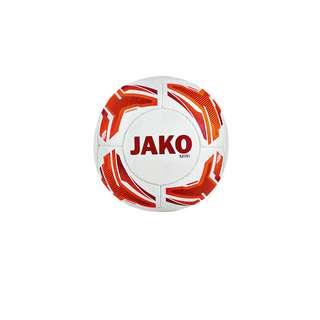 JAKO Fußball Herren Orangeweissrot