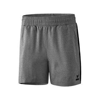 Erima Premium One 2.0 Short o. Slip Damen Fußballshorts Damen grau