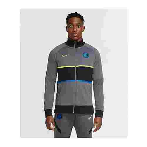 Nike Trainingsjacke grauschwarz