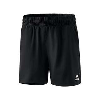 Erima Premium One 2.0 Short o. Slip Damen Fußballshorts Damen schwarz
