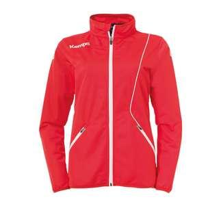 Kempa Curve Classic Jacket Damen Trainingsjacke Damen rotweiss
