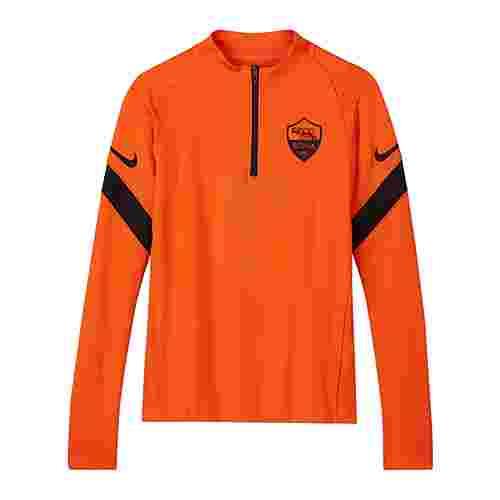 Nike Funktionssweatshirt Herren orangeschwarz
