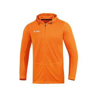 JAKO Run 2.0 Kapuzenjacke Kids Laufjacke Kinder Orange