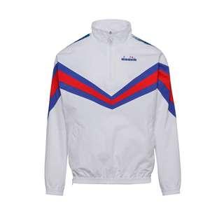 Diadora Track 1/2 Jacket MVB  FC0169 Sweatjacke Herren weiss