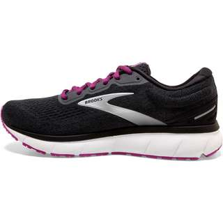 Brooks Trace Laufschuhe Damen ebony-black-wood violet