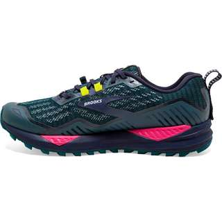 Brooks Cascadia 15 Laufschuhe Damen navy-pink-yellow