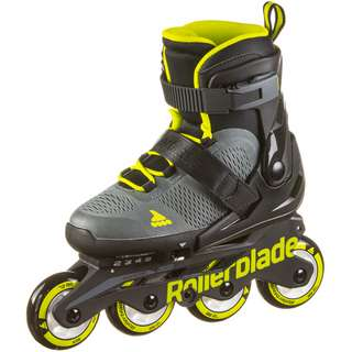ROLLERBLADE MAXX Inline-Skates Kinder anthracite-lime