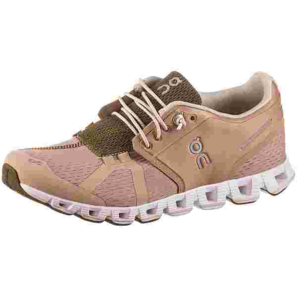 ON Cloud Laufschuhe Damen rosebrown-camo
