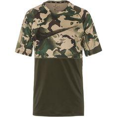 Nike Camo Funktionsshirt Herren sequoia-black