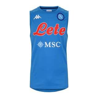 KAPPA SSC Neapel Abrizo Trainingstanktop Fanshirt Herren blau