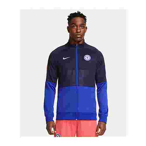 Nike Trainingsjacke blau