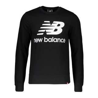 NEW BALANCE Essentials Logo Sweatshirt Sweatshirt schwarz