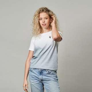 BIDI BADU Tropical Don Damen T-Shirt Tennisshirt Damen grau/weiß