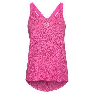 BIDI BADU Maila Burnout Tech Tank Tennisshirt Damen pink