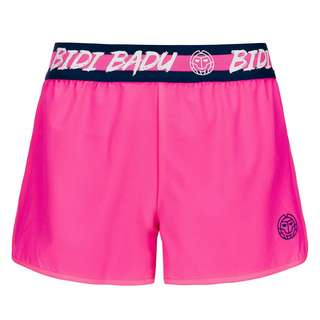 BIDI BADU Grey Tech Shorts (2 in 1) Tennisshorts Kinder pink/dunkelblau