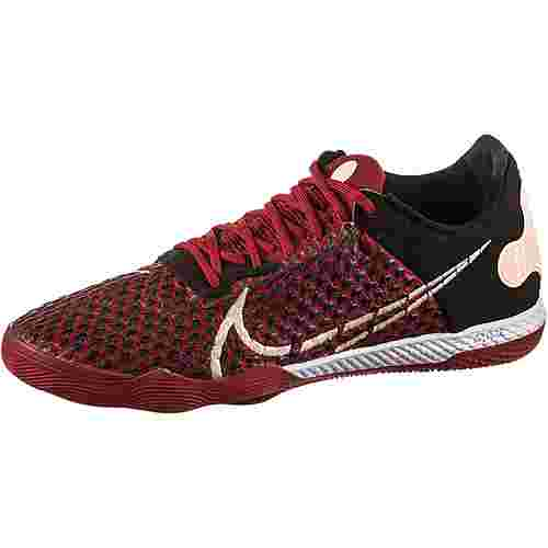 Nike REACTGATO Fußballschuhe Herren cardinal red-crimson tint-black-white