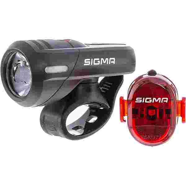 SIGMA AURA 45 USB NUGGET II RL K-SET Fahrradbeleuchtung black