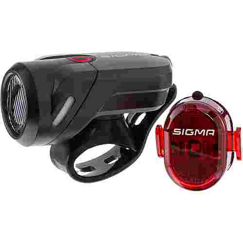 SIGMA AURA 35 USB  NUGGET II RL K-SET Fahrradbeleuchtung black