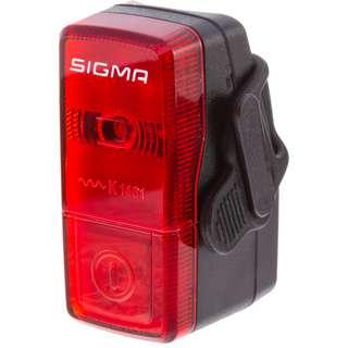 SIGMA CUBIC Fahrradbeleuchtung black