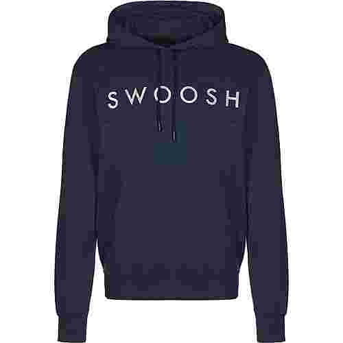 Nike Swoosh Hoodie Herren blau