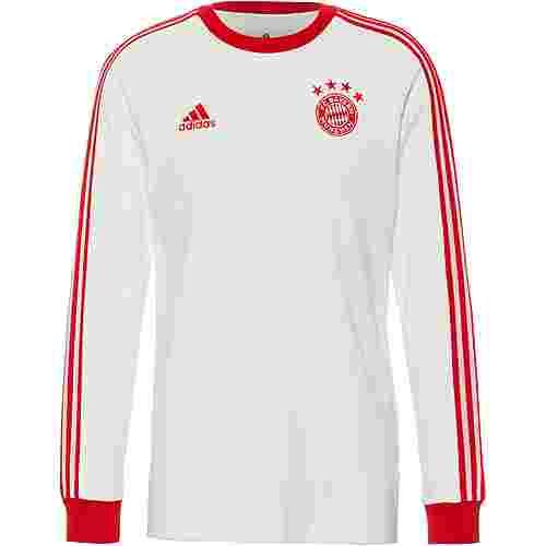 adidas FC Bayern Langarmshirt Herren white