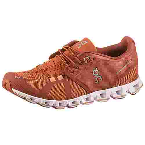ON Cloud Laufschuhe Damen chilli-rust
