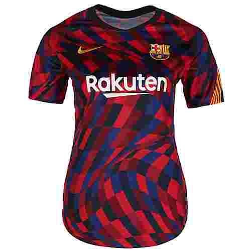 Nike FC Barcelona Pre-Match Fanshirt Damen rot / blau
