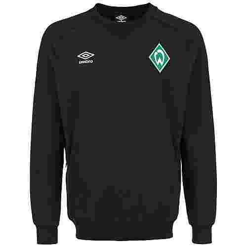 UMBRO SV Werder Bremen Travel Funktionssweatshirt Herren dunkelgrün