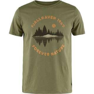 FJÄLLRÄVEN FOREST MIRROR T-Shirt Herren green