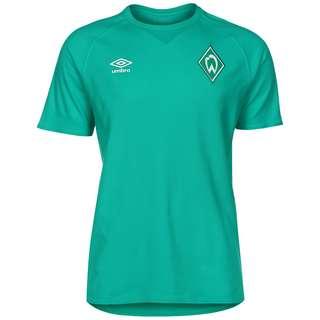 UMBRO SV Werder Bremen Travel Fanshirt Herren grün