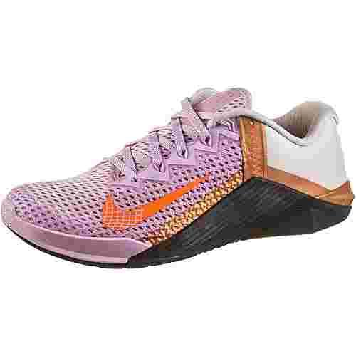 Nike METCON 6 Fitnessschuhe Damen lt arctic pink-hyper crimson-black