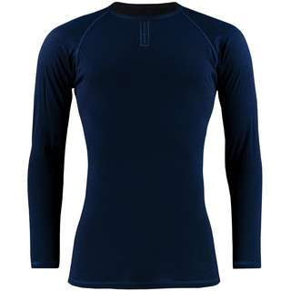 PERCY MASH Merino Winter Navy Blue Unterhemd navy blue