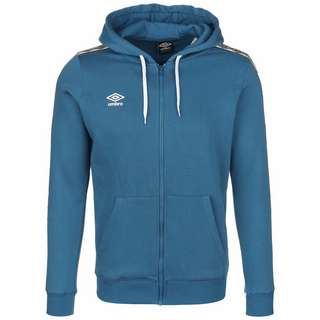 UMBRO FW Taped Zip Trainingsjacke Herren blau / weiß