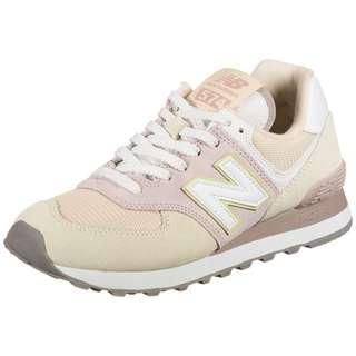 NEW BALANCE ML574-B Sneaker Damen beige / weiß