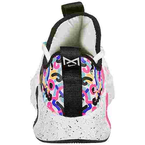 Nike Free Metcon 3 Fitnessschuhe Damen weiß / dunkelblau