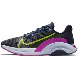 Nike ZOOMX SUPERREP SURGE Fitnessschuhe Damen blackened blue-cyber-red plum-ghost