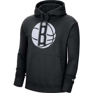 Nike Brooklyn Nets Hoodie Herren black-white