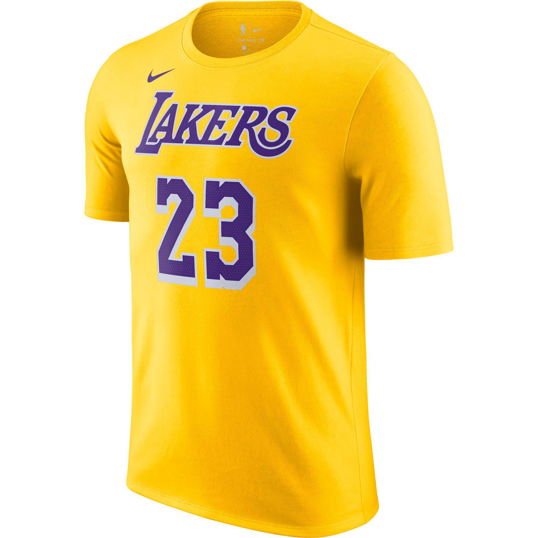 nike -  James LeBron Los Angeles Lakers T-Shirt Herren
