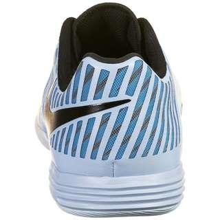 Nike Lunar Gato II Fußballschuhe Herren hellblau / schwarz
