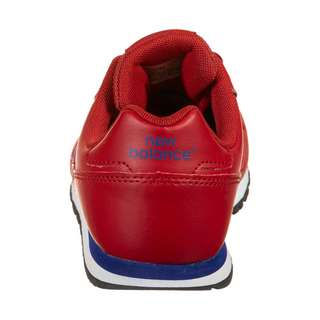 NEW BALANCE YC373-M Sneaker Kinder rot / blau