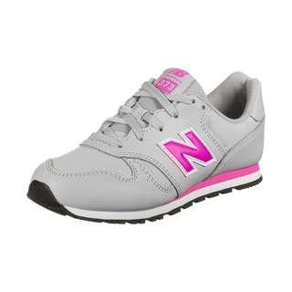 NEW BALANCE YC373-M Sneaker Kinder grau / pink