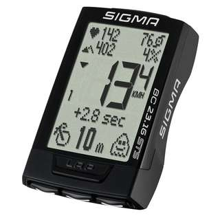 SIGMA BC 23.16 STS Fahrradtacho black-white