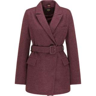 Usha Kurzmantel Damen bordeaux