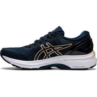 ASICS GEL-KAYANO 27 Laufschuhe Damen FRENCH BLUE-CHAMPAGNE