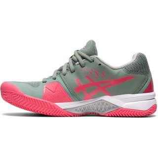 ASICS GEL-CHALLENGER 12 CLAY Tennisschuhe Damen slate grey-pink cameo