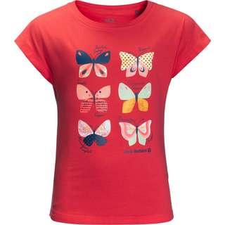 Jack Wolfskin T-Shirt Kinder tulip red
